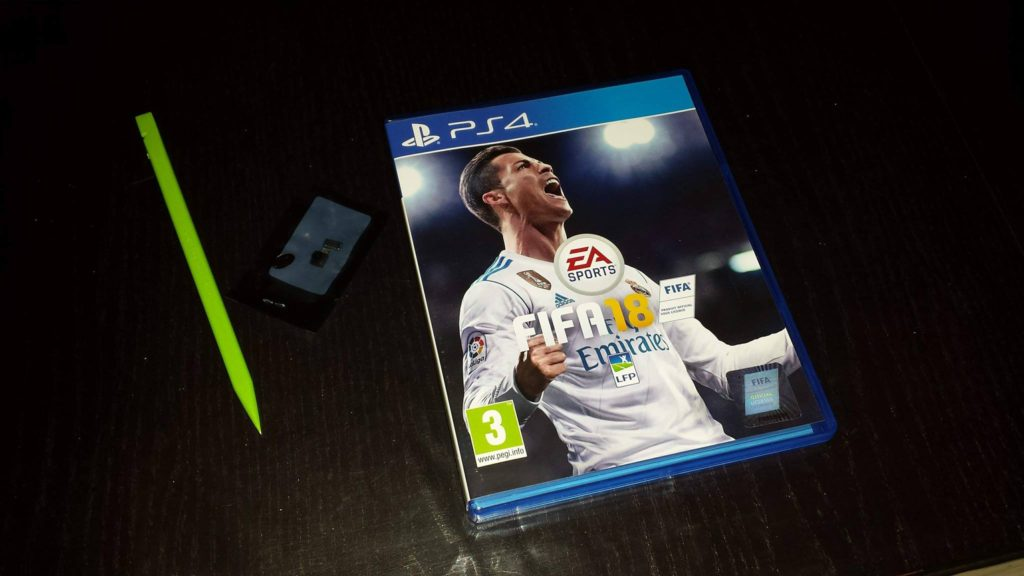 reception achat fifa18 ps4 camera s4