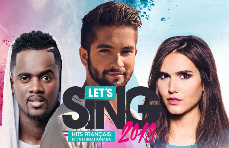 Let's Sing 2018 : Hits Français et Internationaux PS4