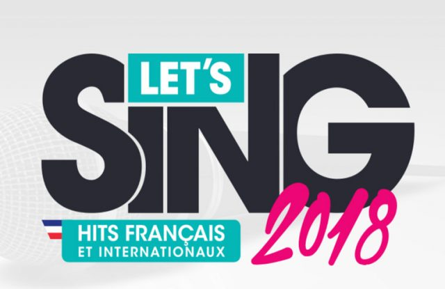 avis let's sing 2018 ps4