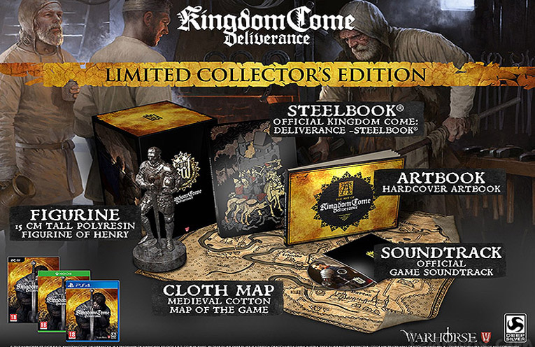 kingdom come deliverance collector limitée