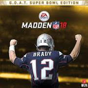 Madden NFL 18 G.O.A.T. Super Bowl Edition