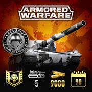 Armored Warfare Mercenary Legend Pack