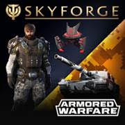 Skyforge Gold Armored Warfare Pack