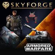 Skyforge Platinum Armored Warfare Pack