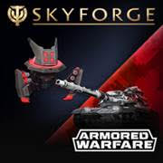 Skyforge Silver Armored Warfare Pack