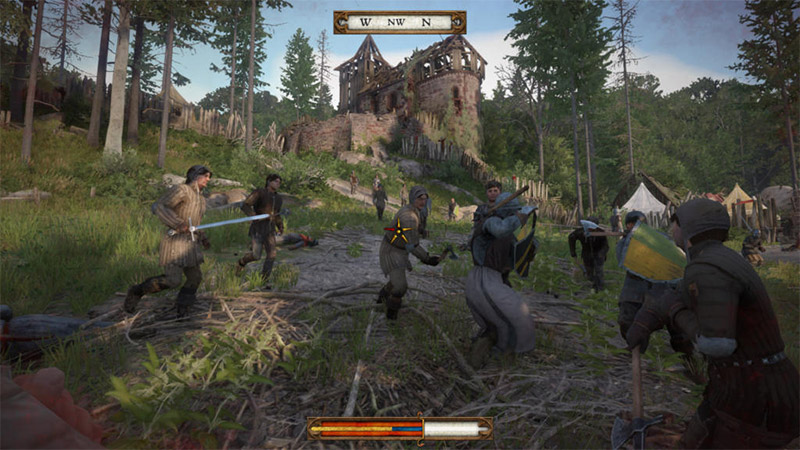 test avis kingdom come deliverance ps4 pro