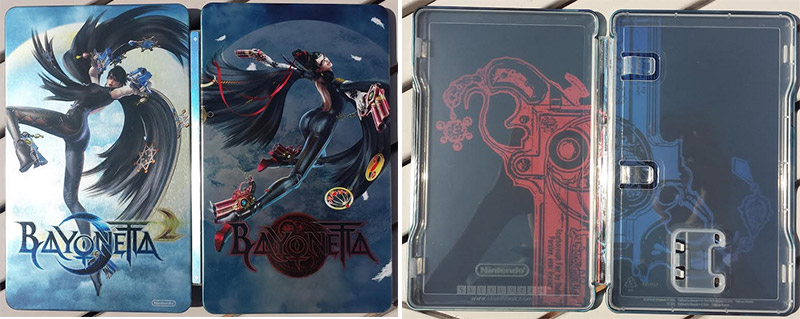 steelbook bayonetta 2 nintendo switch