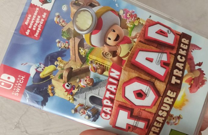achat captain toad nintendo switch