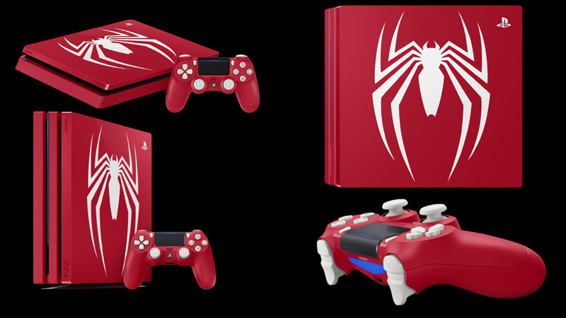 ps4 edition limitee spiderman