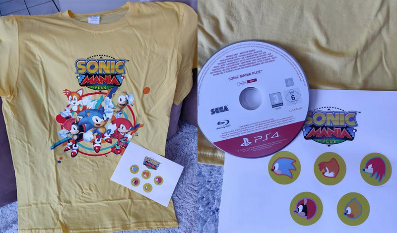 sonic mania plus goodies