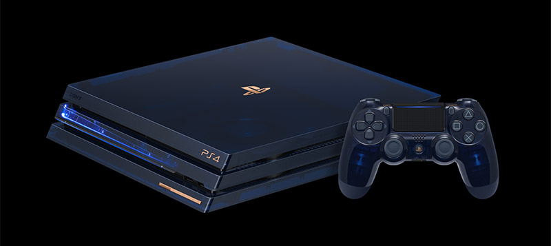 ps4 pro edition limitee 500 millions