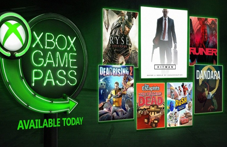 xbox game pass aout 2018