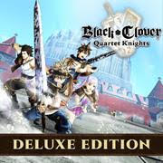 BLACK CLOVER QUARTET KNIGHTS Deluxe Edition