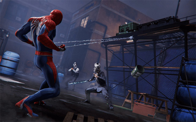 avis test marvel spider man ps4