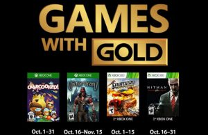 Games With Gold octobre 2018