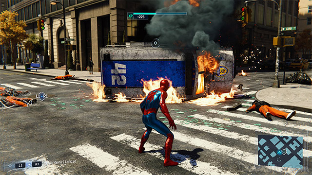 marvel spiderman test ps4