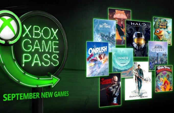 xbox game pass septembre 2018