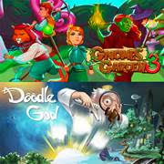 Gnomes Garden 3 The thief of castles&Doodle God