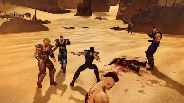 test avis fist of the north star lost paradise ps4