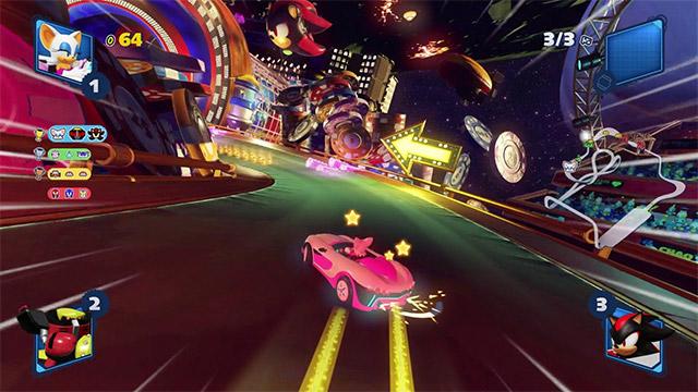 avis team sonic racing ps4 pro