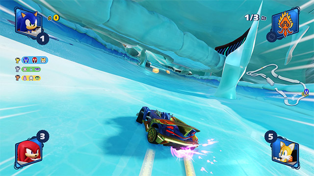 test team sonic racing ps4