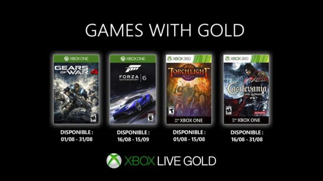 games with gold aout 2019