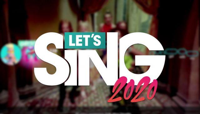 avis let's sing 2020 ps4