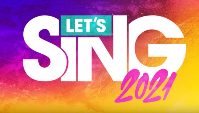 test let's sing 2021 ps4